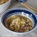 Low carb gluten free crock pot chicken lo men