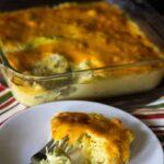 Spaghetti squash broccoli cauliflower casserole