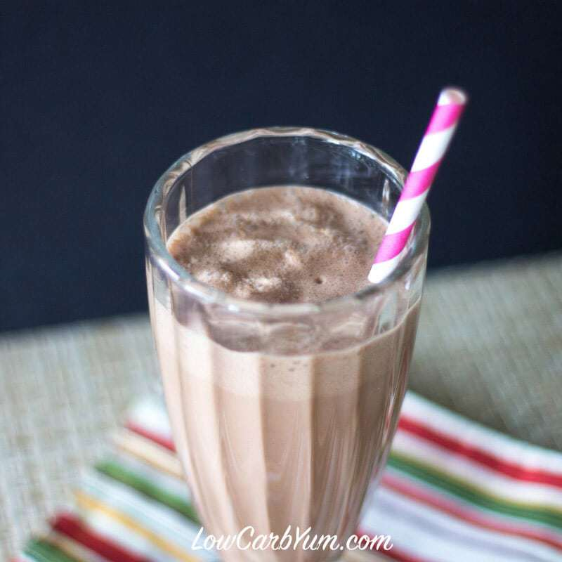 Peanut Butter Chocolate Milkshake