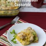 Chicken Broccoli Spaghetti Squash Casserole