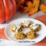 Low carb gluten free coconut flour chocolate chip pumpkin cookies recipe