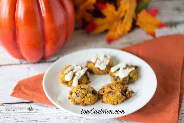 Chocolate-Glazed Pumpkin Cookies Recipes — Dishmaps