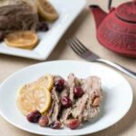 Low Carb Gluten Free Crock Pot Cranberry Pork Roast