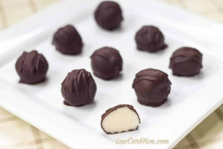 Low Carb White Chocolate Truffles Recipe