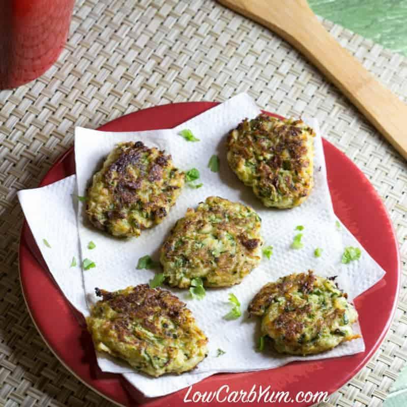 Coconut Flour Zucchini Fritters – Gluten Free
