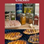 Low carb grilled Moroccan chicken recipe
