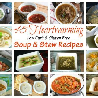 Low Carb Soup and Stew Recipes