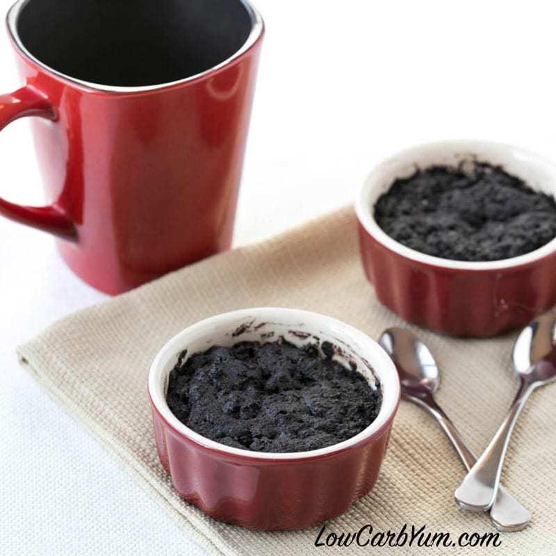 Minute Chocolate Mug Cake Low Carb