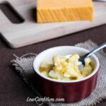Instant low carb gluten free cauliflower mac-n-cheese