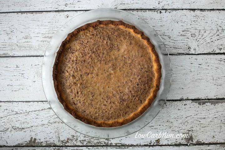 Low carb pecan pie and Sukrin giveaway