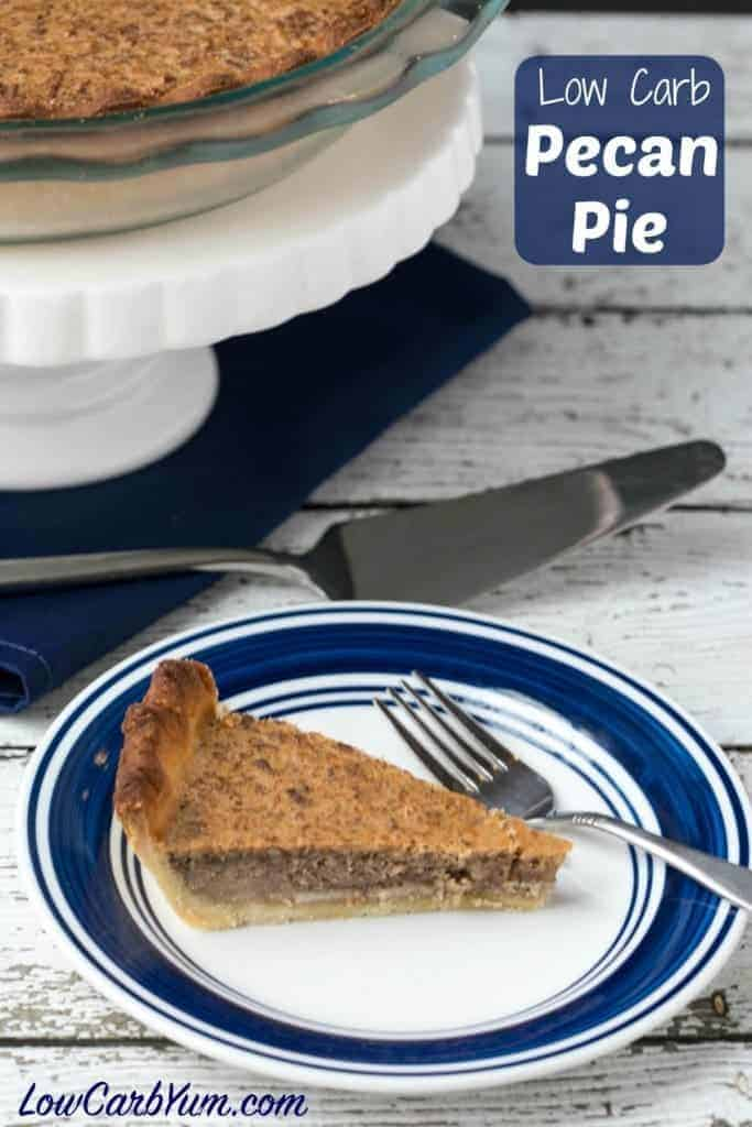 A delicious low carb gluten free pecan pie is possible if you use the right sweetener. So good, you'll want to enjoy this traditional holiday pie throughout the year.