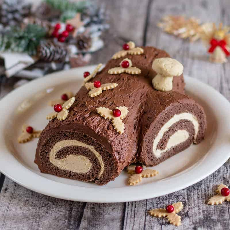 Yule Log Cake Recipe – Buche de Noel
