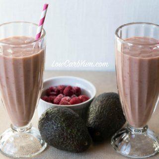Raspberry Avocado Smoothie – Dairy Free