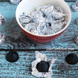 Sugar Free Chocolate Kisses Molded Candy