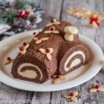 Low Carb Buche De Noel Yule Log Cake