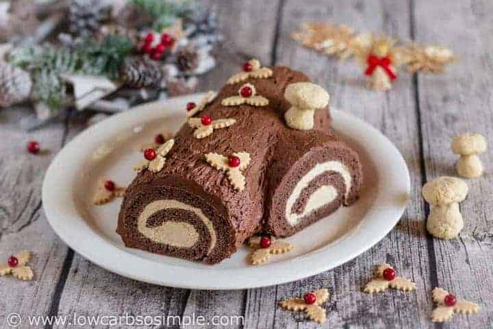 Easy Buche De Noel Cake Recipe
