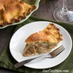 Chayote squash low carb gluten free apple pie