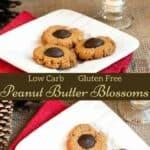 Gluten free peanut butter blossoms recipe