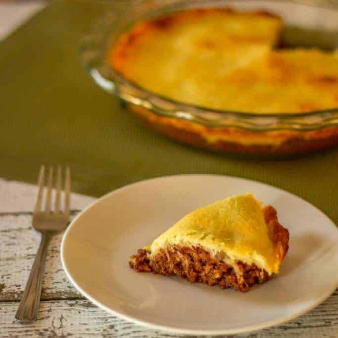 Low carb sloppy joe pie recipe