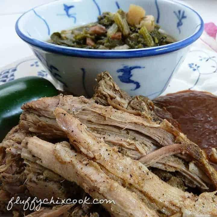 Low carb crock pot pulled pork