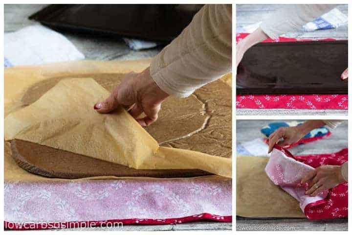 removing-buche-de-noel-yule-log-cake-pan
