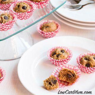 Mini Peanut Butter Chocolate Chip Muffins