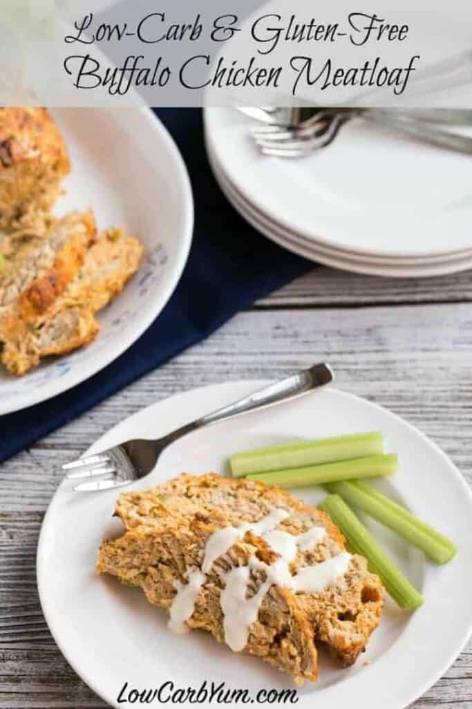 Low carb buffalo chicken meatloaf recipe
