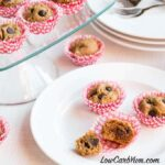Low Carb Gluten Free Mini Peanut Butter Chocolate Chip Muffins