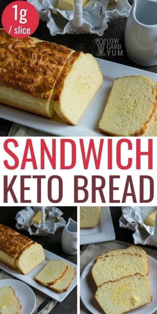 keto sandwich bread loaf recipe