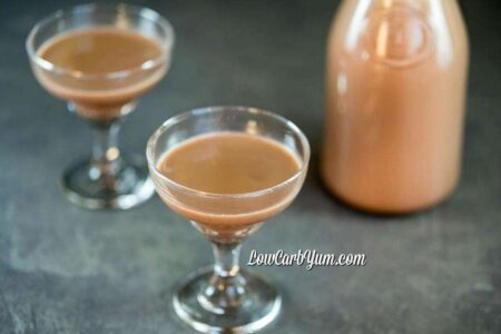 Low Carb Copycat Bailey's Irish Cream Recipe