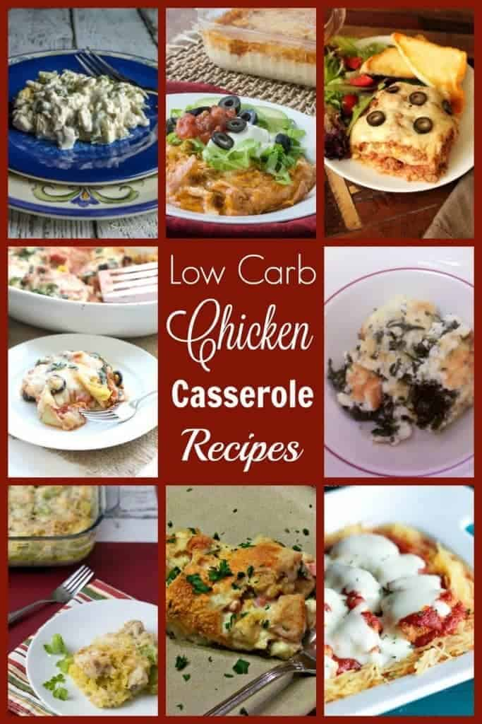 Casseroles are nice comforting meals that are usually pretty easy to put together. Here's a collection of 18 low carb chicken casserole recipes to try.