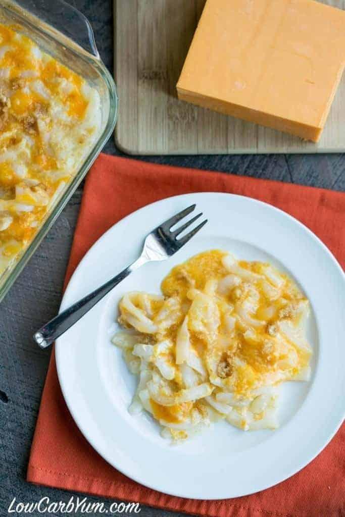 Shirataki Noodle Macaroni and Cheese
