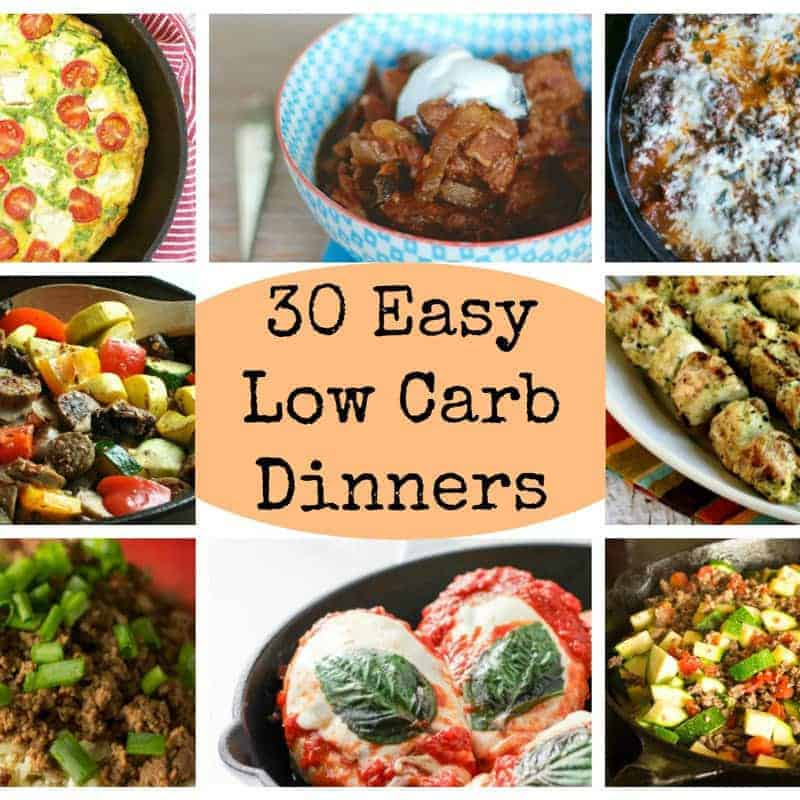 30 Easy Low Carb Dinners For Busy Days Low Carb Yum