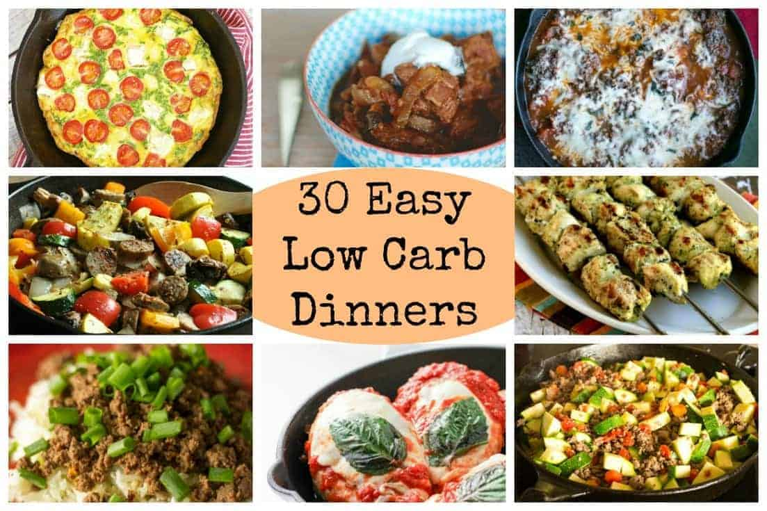 30 easy low carb dinners for busy days low carb yum for Healthy recipes for dinner low carb