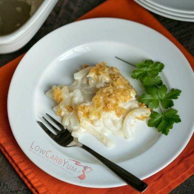 Shiratake Tuna Noodle Casserole