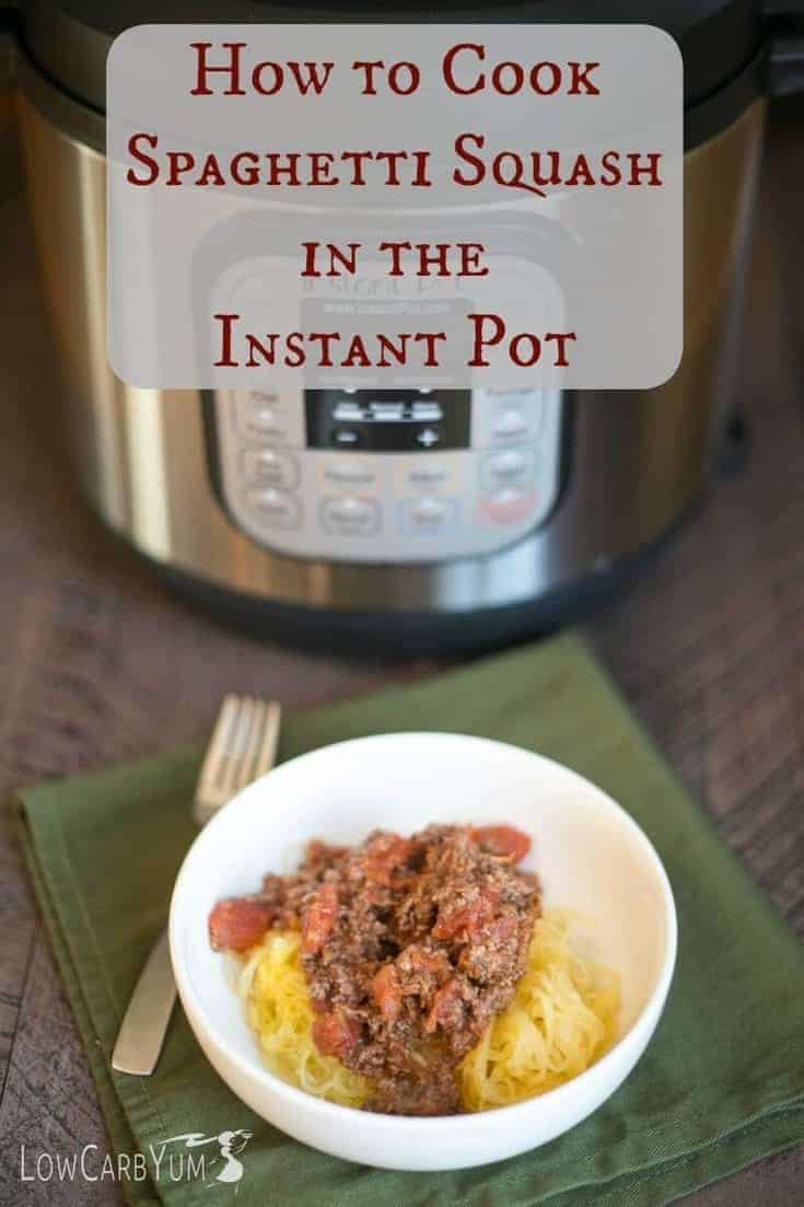 There are several ways to cook spaghetti squash. Here's how to cook spaghetti squash in an Instant Pot pressure cooker. which results in great texture.