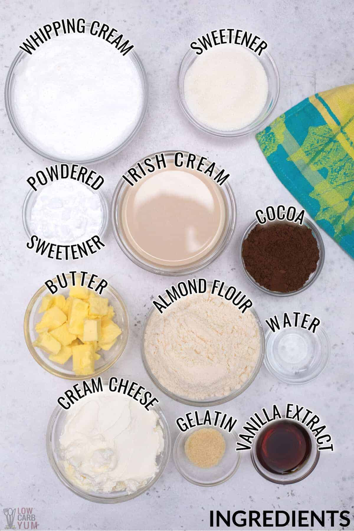 irish cream cheesecake ingredients