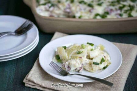 Low carb corned beef and cabbage colcannon