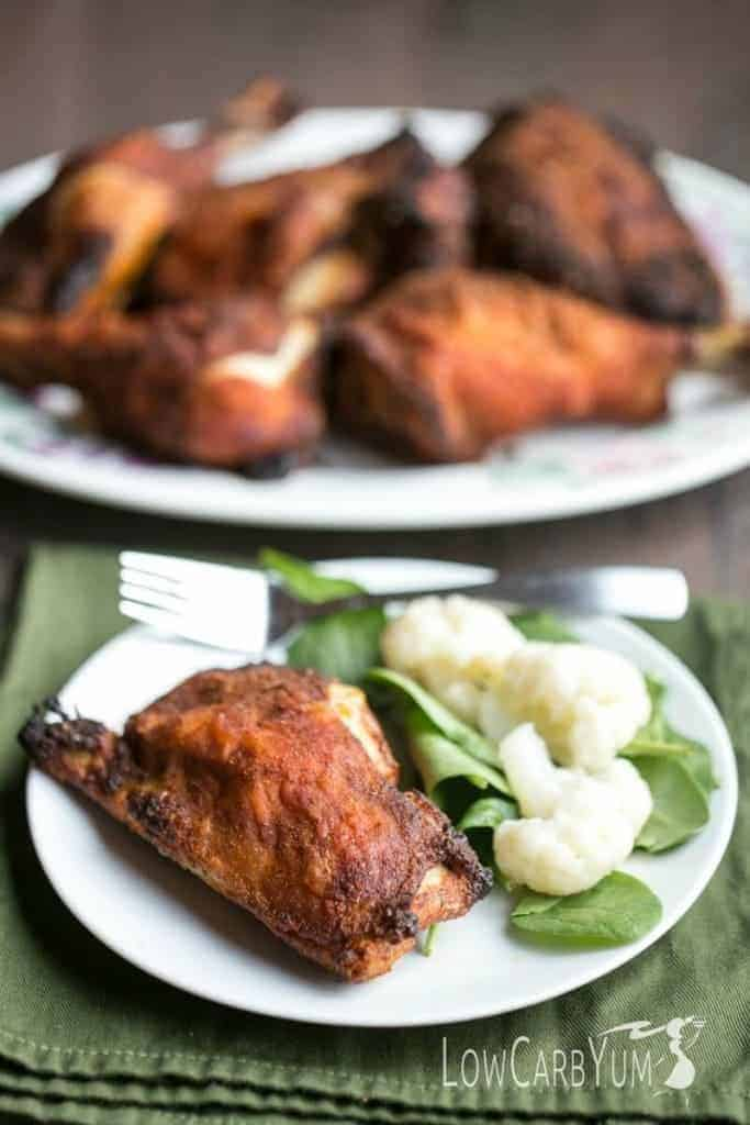 Try these easy crispy oven baked chicken legs for a quickly prepared weeknight meal. Just coat the pieces with seasonings and put them in the oven.