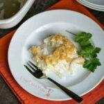 Low carb shiratake tuna noodle casserole