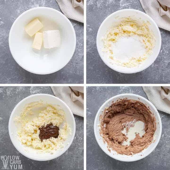 sugar free nutella frosting
