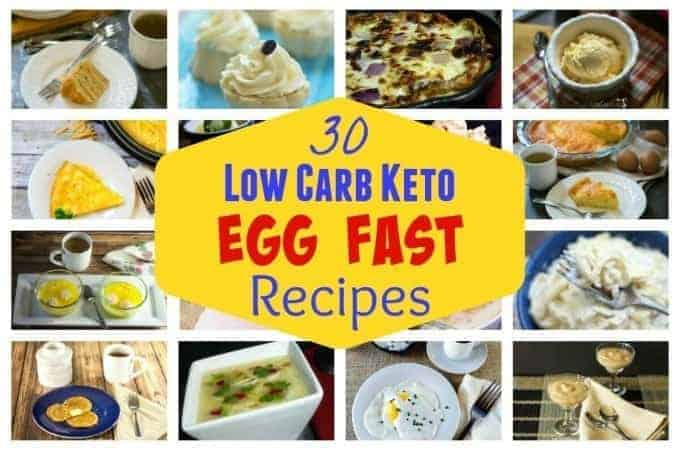 30 Egg Fast Recipes for Quick Weight Loss