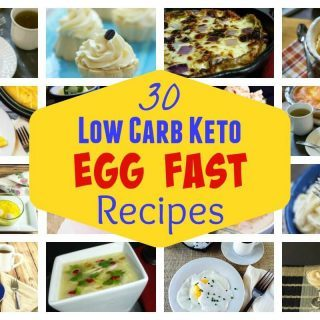 Egg Fast Diet Plan Recipes for Weight Loss