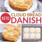 low carb keto cloud bread danish recipe