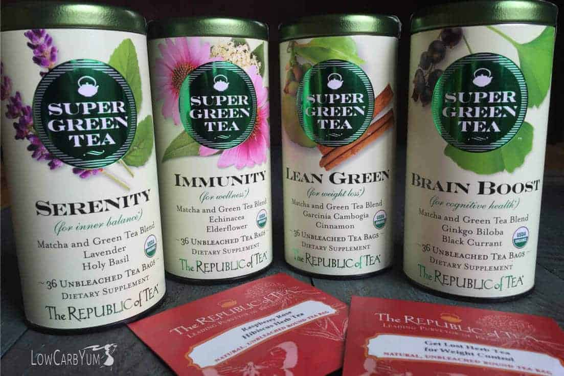 green tea options