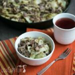 Bacon-Burger-Cabbage-Stir-Fry-Skillet-Dish