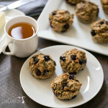 Zucchini Blueberry Muffins Recipe – Gluten Free