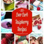Low carb raspberry recipes