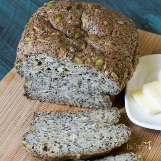 Pumpkin Sunflower Seed Psyllium Bread