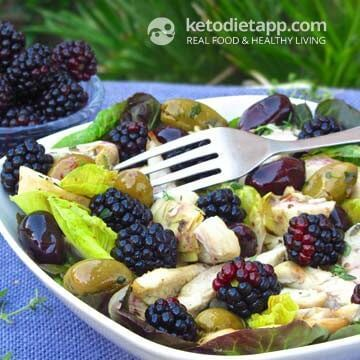 Easy low carb salads